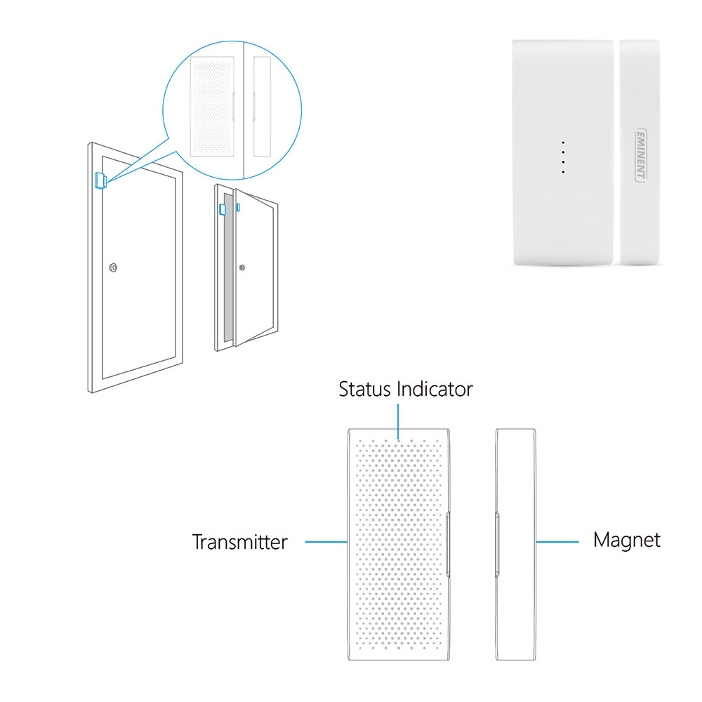 Wireless Door/ Window Contact