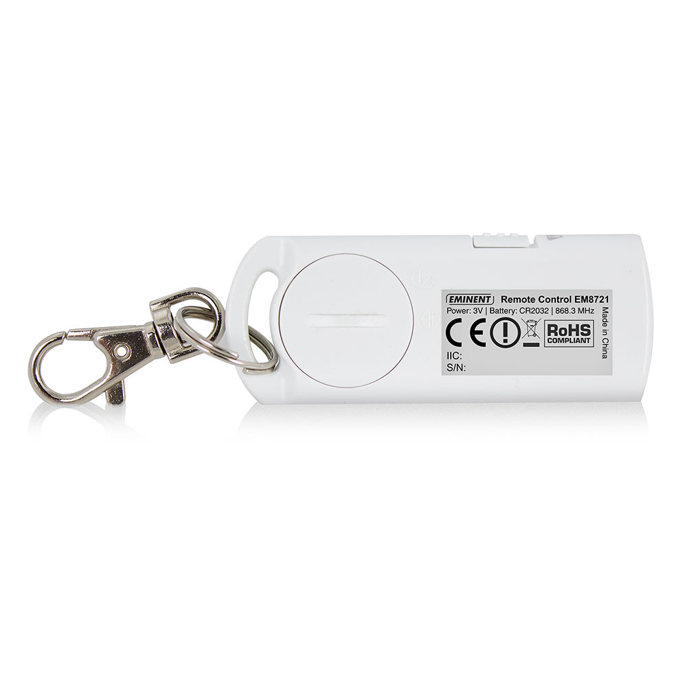 Remote Control (suited for the EM8710 Wireless GSM Alarm System)