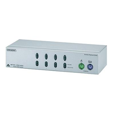 High Quality 4-Port KVM Switch