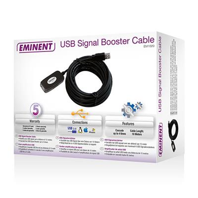 USB Signal Booster Cable 10 meters