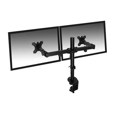 Dual Desk Mount for monitors up to 32 inch