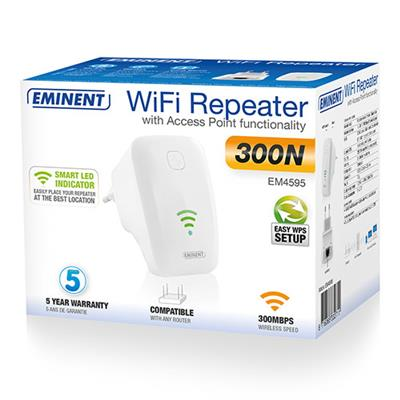 Universal WiFi Repeater with WPS (Succeeded by EM4594)