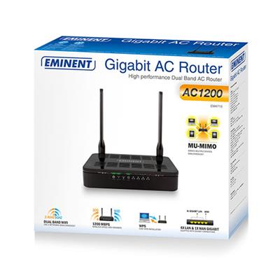 Routeur double bande Gigabit AC1200