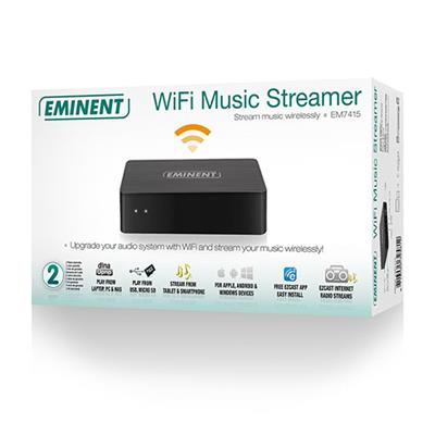 WiFi Zene Streamer