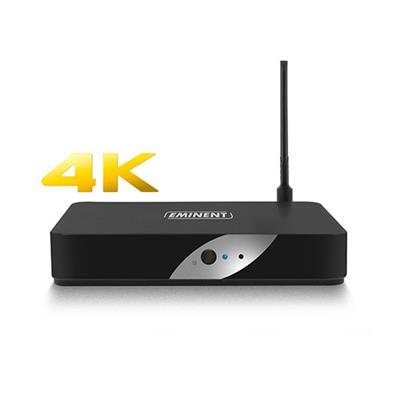 4K TV Streamer powered by LibreELEC Kodi (opvolger van de EM7580)