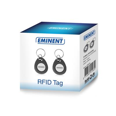 2x RFID Tag (suited for the EM8710 Wireless GSM Alarm System)
