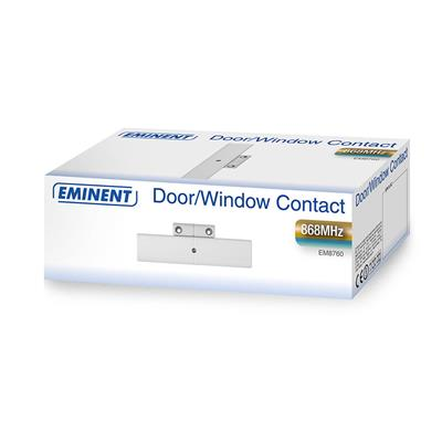 Wireless Door/Window Contact (suited for the EM8710 Wireless GSM Alarm System)